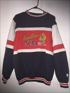 Vintage 90's NCAA Final Four 1994 Crewneck Sweatshirt - Size Large by…
