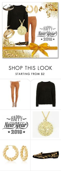 """Happy New Years"" by shell-moore ❤ liked on Polyvore featuring Karen Kane, Topshop, Cricut, Andiamo and Alexander McQueen"