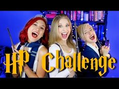 HARRY POTTER IMPRESSIONS CHALLENGE - ft. Tessa Netting & Christine Riccio! - YouTube XD THIS IS THE BEST