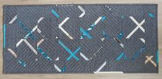 A Quilter's Table: Crosscut Showing Four