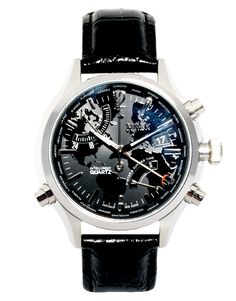 66a2c3a3e283 Timex Intelligent Quartz World Time Chronograph Watch T2N943 at asos.com