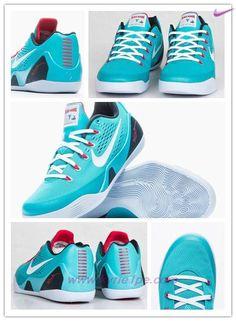 "scarpe moda 646701-316 Nike Kobe 9 EM Dusty Cactus/Bianco-Action Rosso-Gym Blu ""Dusty Cactus"""