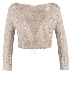 Das Sahnehäubchen für dein Outfit. Cream SINNA - Strickjacke - sand für 47,95 € (11.04.16) versandkostenfrei bei Zalando bestellen.