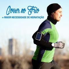 A exposição ao frio pode causar perdas de líquido de 2 a 5% do peso corporal.