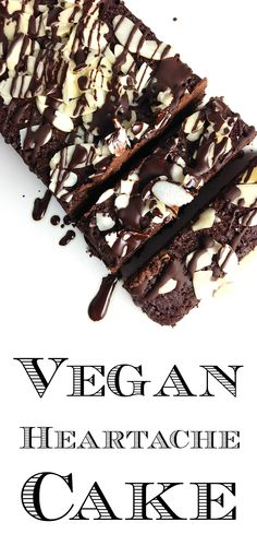 Vegan Heartache Cake (Chocolate Eggplant Torte) l Vegan, Grain/Gluten/Dairy Free - GrokGrub.com