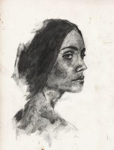 Portrait, Graphite on paper, 2016 Portrait, Drawings, Illustration, Artist, Graphite, Paper, Sketches, Headshot Photography, Illustrations