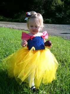 Snow White Inspired Tutu Dress Disney Princess by LoveHerTutus, $35.00