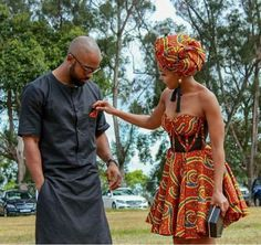 Couples African Outfits, African Attire, African Print Fashion, African Prints, Shweshwe Dresses, African Traditional Wedding, Black Love, Summer Dresses, Formal Dresses