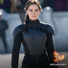 """""...Effie taps my shoulder, and I step out into the cold winter sunlight."" - #KatnissEverdeen, #MockingjayPart2"" Photo taken by @thehungergames on Instagram, pinned via the InstaPin iOS App! http://www.instapinapp.com (11/12/2015)"