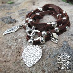 Deerhide Wrap Bracelet