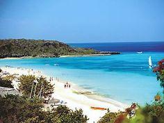 Guardalavaca Beach, Holguin, Cuba I was swimming in this water.  I love Cuba.