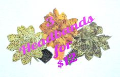Pick any 3 headbands for 12 dollars by TashasTutuBoutique on Etsy, $12.00