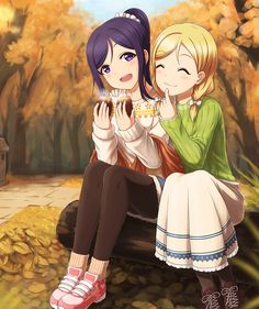 Two good freinds Anime Best Friends, Friend Anime, Cute Friends, Anime Sisters, Mari Ohara, Pastel Goth Art, Yuri, Anime Friendship, Dress Design Sketches