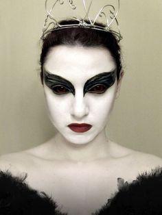 schwarzes kleid halloween schminktipps ideen für frauen