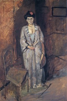 Henri Matisse THE JAPANESE (Madame Matisse with a Japanese Dress) 116.8 x x 80 cm. Private Collection c. 1901