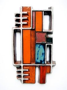 Oswald Tieberghien: abstract wall sculpture #5