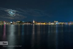 Colors of the night! - Pinned by Mak Khalaf A long exposure night view of Aalborg in the Northern Denmark. City and Architecture Region Nordjyllandaalborgarchitecturebluecitycloudscoldcolorfulcolorsd5300danmarkdenmarkdennisdennisedmondlakelightlong exposuremoonnightnikonreflectionreflectionsskiesstarstarswater by DennisEdmond