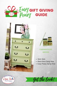938 Best Amazing Green Painted Furniture Dixie Belle