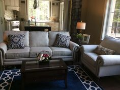 A great shot of Classic Furniture's work from the Parade of Homes 2014