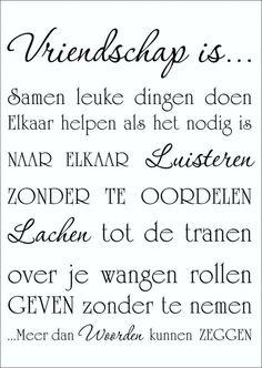 Ware vriendschap