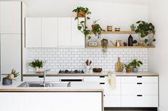 Benambra Street KITCHEN | Wood and white = in love