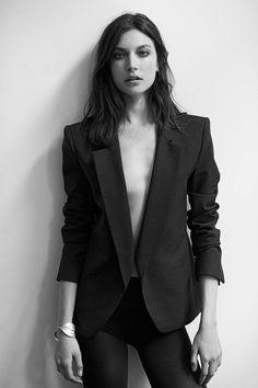 tailored pant suit #minimode www.mini-mode.com