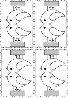Karmnik i ptaki z papieru – Przedszkolankowo Paper Crafts, Diy Crafts, Art For Kids, Kids Rugs, Symbols, Letters, Color, Winter, Ideas