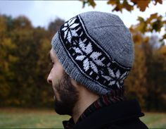 always ready for wind :)  #hats #hat #women #men #cute #knitting #unique #warm #handknit #wool #Nordic #patterns #Litknitbits #cozy