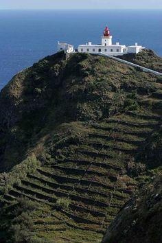 Farol da MAIA   Açores Portugal