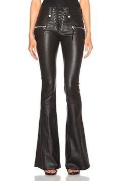 5d1d0f6510b39 Lulu Leggings Women Pants Special Offer New Faux Leather Solid 2017 Rock  Metal Cross Strap Design Pu Trumpet Trousers And Feet
