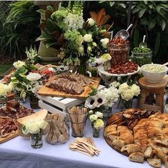 Dan The Man Cooking / Wedding Style Inspiration / LANE food catering Catering Display, Catering Food, Wedding Catering, Catering Ideas, Catering Recipes, Catering Table, Catering Events, Catering Services, Cheese Table