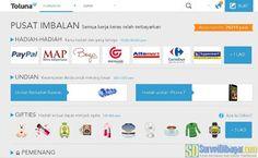 Pilihan hadiah yang bisa ditukar dengan poin Toluna Indonesia | SurveiDibayar.com