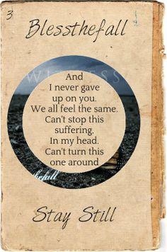 Blessthefall lyrics on Pinterest | Drunk Driving, Itunes ...