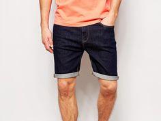 Pantaloncini di jeans per lui, comodità casual