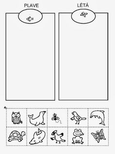 Album Archive - Z internetu English Activities, Preschool Learning Activities, Preschool Worksheets, Animal Crafts For Kids, Diy For Kids, Prewriting Skills, Sudoku, Preschool Colors, Jokes For Kids