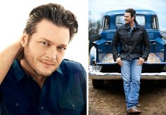 It's not just Hollywood that turns to Jeff Lipsky for his fresh, optimistic portraiture—Nashville has also embraced him. Below, a selection of his recent portraits of country music's boldfaced names… . Blake Shelton Baby, Blake Sheldon, Celebrity Portraits, Country Singers, Sexy Men, Cool Photos, Eye Candy, American, Celebrities