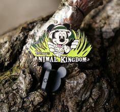 Walt Disney Mickey Mouse Animal Kingdom 2008 Lapel Pin Pinback Silver Tone  | eBay