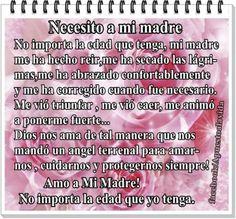Angeles Del Amor Oraciones   Pensamientos con postales para el dia de la madre