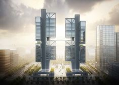 #architecture #china #dji #headquaters #fosterandpartners