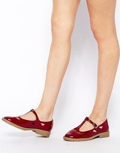 Enlarge ASOS MOLLY T-Bar Flat Shoes