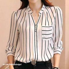 Photo Blouses For Women, Chiffon Tops, Casual, Cotton, Stuff To Buy, Shirts, Clothes, Kurti, Fashion