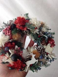 手のひらサイズのクリスマス  プリザーブドフラワー - 花製作所