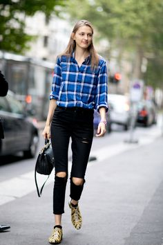 160 Off-Duty Model Style Moments from the Streets of Fashion Month: StyleCaster waysify