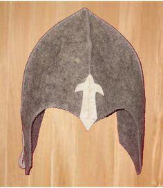 KNIGHT / CHEVALIER / RIDDER - COSTUME - Felt armor
