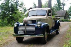 1946 GMC 3500 Step Side Old Pickup Trucks, Hot Rod Trucks, Cool Trucks, Classic Gmc, Classic Trucks, Classic Cars, Antique Trucks, Vintage Trucks, Antique Cars