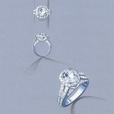 Platinum delight #customdesign #remyrotenier #customjewelry #customdesignedjewelry #jewelry #jewels #jewelryartist #jewellery #platinum
