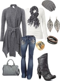 """bundle up for fall"" by shemomjojo on Polyvore"