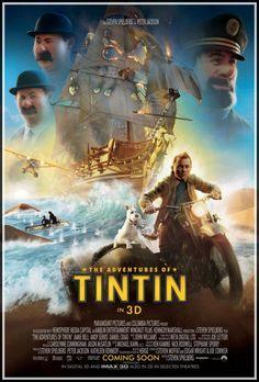 "The Adventures of Tintin (2011) ""As Aventuras de Tintim"""