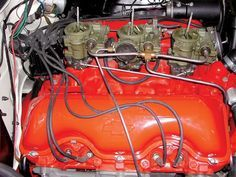 Chevrolet W-Engines - Rare Performance History - Super Chevy Magazine Old Race Cars, Old Cars, Chevrolet Impala, 1957 Chevrolet, Chevrolet Trucks, Super Chevy Magazine, Classic Motors, Classic Cars, Performance Engines