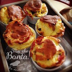 Soufflè ai #funghi - #Mushroom #soufflé ITA_ENG #recipe